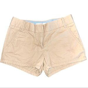 J. Crew Broken-In Khaki Chino Shorts